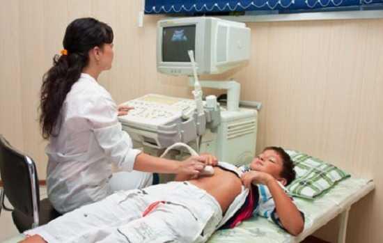 Деформация желчного пузыря у ребенка - диагностика