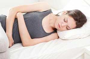 Симптомы деформации желчного пузыря