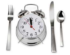 Регулярные приемы пищи