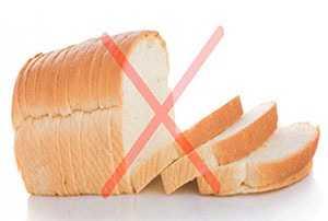 Белый хлеб противопоказан при камнях в желчном пузыре