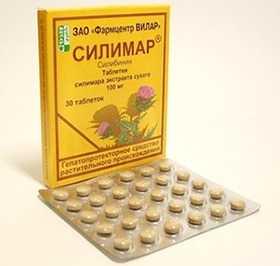 Расторопша в таблетках Силимар