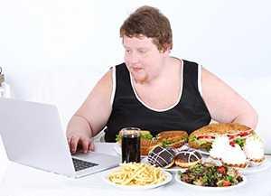 Жирная пища и малоподвижный образ жизни